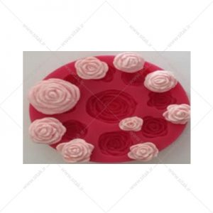 قالب فوندانت گل رز