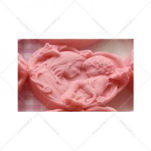 قالب فوندانت طرح مادر و کودک