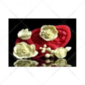قالب فوندانت گل اطلسی
