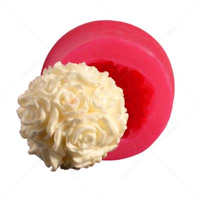 قالب فوندانت گل توپی