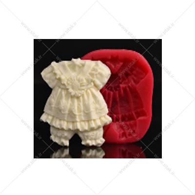 قالب فوندانت لباس دخترانه