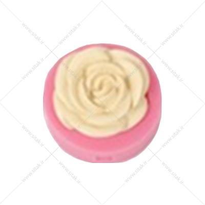 قالب فوندانت گل رز تکی
