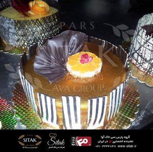 کیک کنجدی
