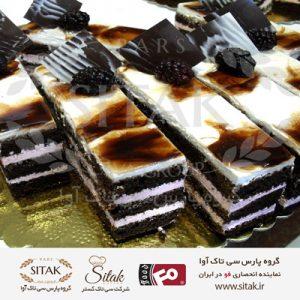 کیک شکلاتی گلاسو