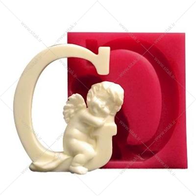 قالب فوندانت حروف فرشته حرف G