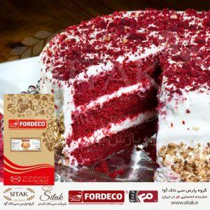 پودر کیک ردولوت فوردکو
